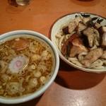 えなみ - 料理写真:お魚とお肉のつけめん・小(1000円)