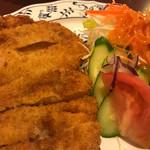 イタリアンハウス - トンカツ定食