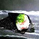 和食のすゝめ - 〆の「蟹手巻き」間違いないウマさ