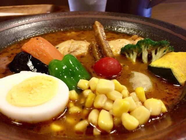 モグ - チキンと野菜のスープカレー