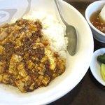 チャイニーズレストラン大幸 - 陳マーボー丼!(2016,09/19)