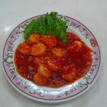 餃子の王将 - 料理写真:エビチリ