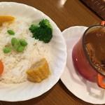 クリスティ - 「特製鉄鍋カレーセット」1,300円