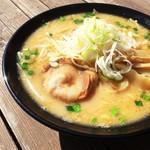 千本松牧場 - コクのあるスープと麺がよく合う自慢の一品★