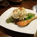 食堂 728 - 激ウマポテサラ♪