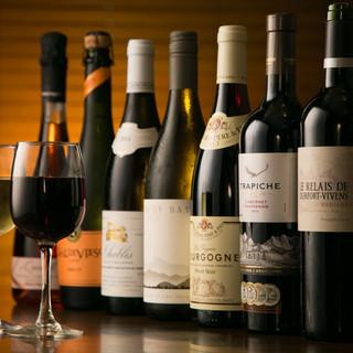 世界のスパークリングワインを20種取り揃えています!