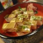 56634952 - 名物のさば寿司