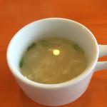 56636377 - セットのスープ