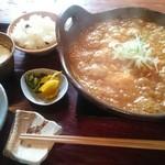 甘味喫茶 侘助 - 土鍋カレーうどん