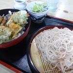 東家 - 天丼セット 850円