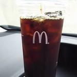 マクドナルド - ドリンク写真:アイスコーヒー