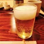 56638700 - 鰻にはビールでしょ‼︎