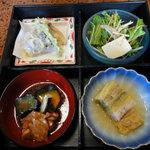 まんま亭 楽 - 週替わりの松花堂会席弁当(ランチ)