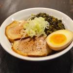 麺 鶴亀屋 - 叉豚丼
