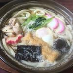 鶏泉 - 鍋焼きうどん¥510円税込み