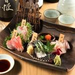 銀の月 - 山口県の直送鮮魚のお刺身