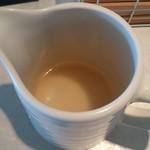 56641811 - つけ麺スープ割りの出汁し