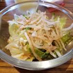 Boom - 料理写真:サービスでついてるサラダ♪