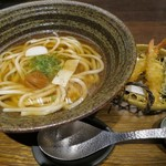 つるとんたん UDON NOODLE Brasserie - 天扶良のおうどん(¥1,280−)