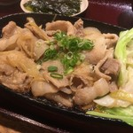 56646199 - 日替わりサービス定食 豚の生姜焼き(¥750)