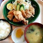 海鮮丸 - 唐揚げ定食:700円