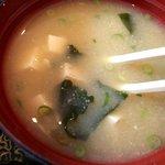 海鮮丸 - カツオだしの味噌汁