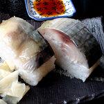 5665475 - セットで頂いた鯖寿司