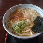 山崎製麺 - かけうどん(大)