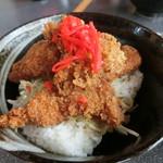 つかさ - 料理写真:マグロソースかつ丼