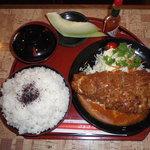にゅうとん - A定食 ごはん大盛り