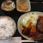 グリーンオアシス - 日替わりランチ 620円(2016年9月)