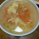 shanhaishukaijinhanten - トマト玉子スープ