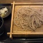 蕎麦の実 - もりそば(600円)