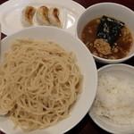 麺屋雷神 - 料理写真:濃厚鶏つけめん大盛+Aセット