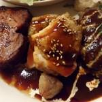 街の洋食屋 AKIRA - Bランチをアップ
