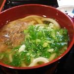 讃岐麺房 すずめ - 定食のうどん