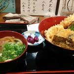 讃岐麺房 すずめ - 天丼定食¥850