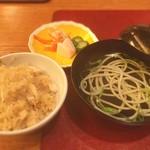 ホテルニューアワジ - 鯛飯と淡路ヌードル
