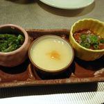蒸し茶家 自然の中で・・・ - (2011.4)前菜