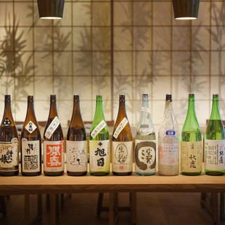 全国各地の日本酒をご用意