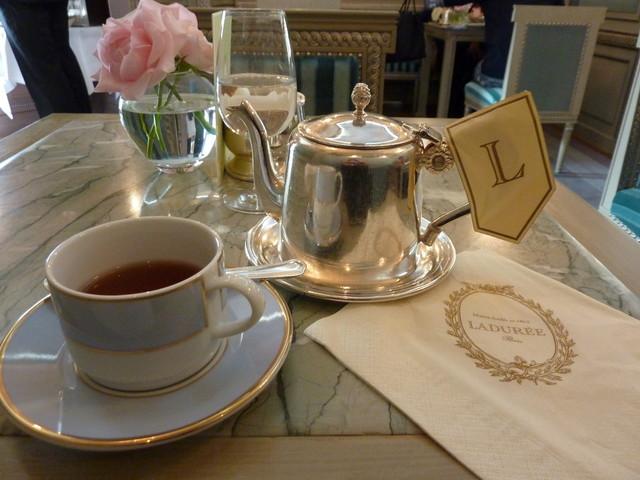 ラデュレ サロン・ド・テ 銀座三越店 - 2010.11 セットの紅茶