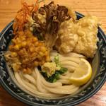 56670456 - 鶏野菜天ぶっかけ(冷)