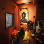 カルカロドン・カルカリィス - ジミヘンの絵が飾られています