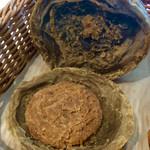 リトルマーメイド - イタリア栗のショコラパイをパカッと開けて(割って)みた。