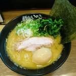 麺処いのこ - 味玉ラーメン(しょうゆ) ¥780