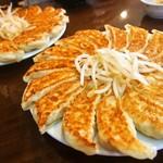 石松餃子 - 餃子30個を注文したら、15個が2つやってきた