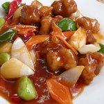 東方美食 - 酢豚のアップ