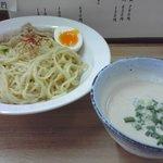 うぜん - 鶏塩ポタージュつけ麺(並)790円