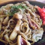あつみ - 料理写真:富士宮焼きそば(イカ)です。