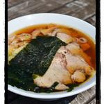 鳥居原ふれあいの館 - チャーシュー麺